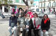 Sit with Picasso Statue, Complete Tour Malaga