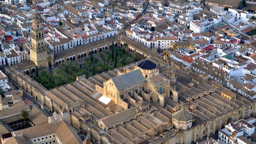Aerial view of Cordoba - tiqy, Cordoba From Granada