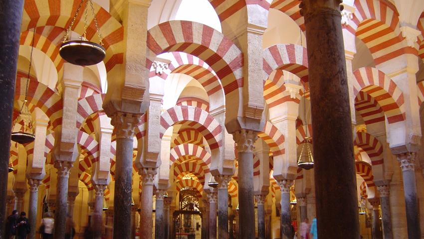 Inside the Mezquita - tiqy, Cordoba From Granada