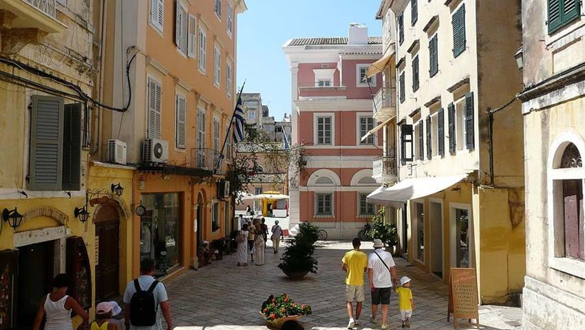corfu city tour tiqy, Corfu Town City Tour