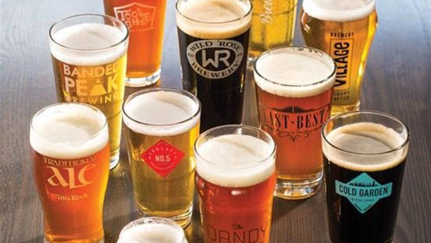 Beer Tasting, Tour Calgary Cerveza Artesanal