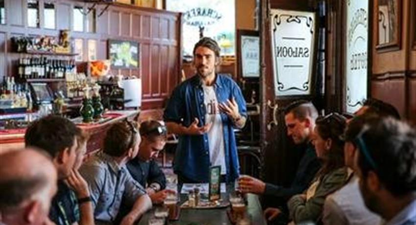 Craft Beer Walking Tour group, Craft Beer Walking Tour