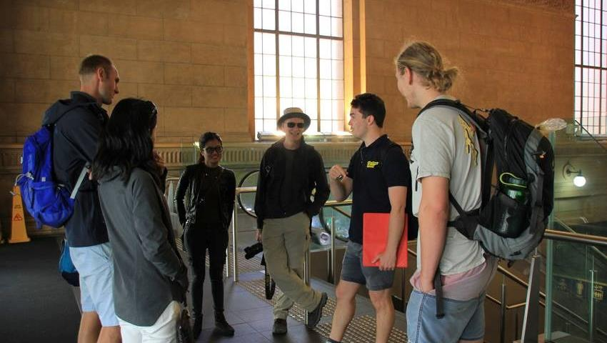 Culture and History Free Walking Tour guide talk, Culture and History Free Walking Tour