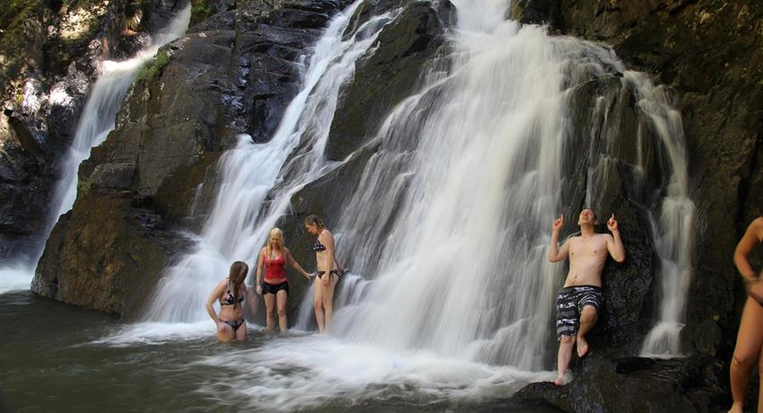 Atherton Tablelands Waterfalls Cairns girls, Day Tour of Atherton Tablelands Waterfalls Cairns