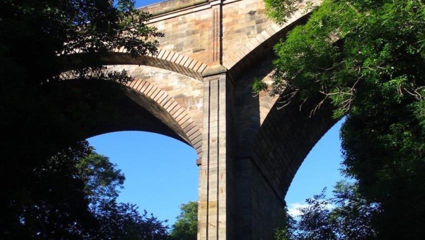 Dean-Bridge-Dean-Village-tiqy, Visita de Arquitectura Dean Village