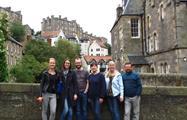 Family-Dean-Village-tiqy, Dean Village Architecture Tour