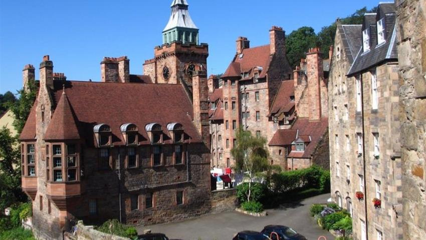 Writers-museum-Tiqy, Dean Village Architecture Tour