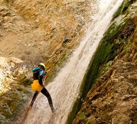Descent of Ravines in Malaga