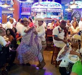 Dinner and Folkloric Show