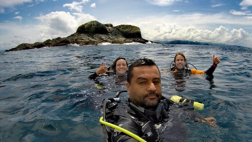 2, Clases de Buceo en Isla Coiba