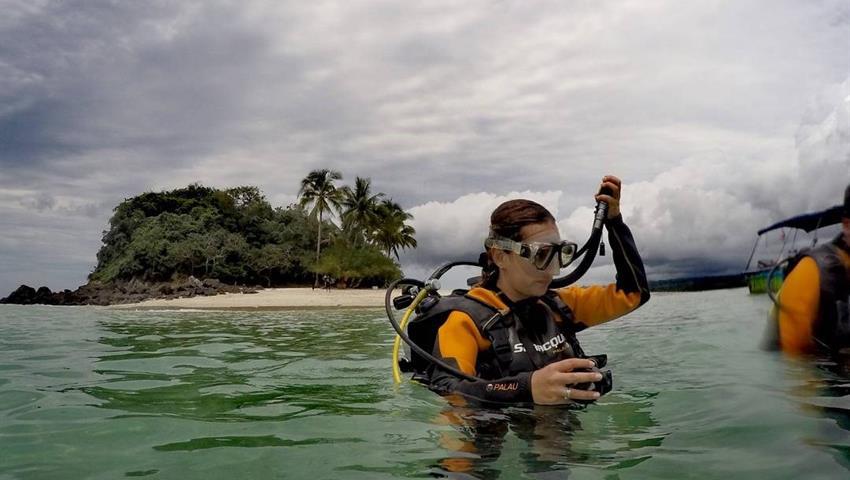 4, Clases de Buceo en Isla Coiba