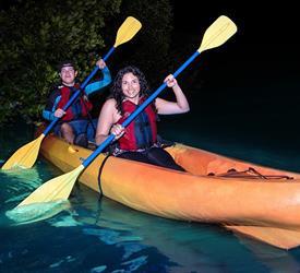 Kayak en Bahía Bioluminiscente