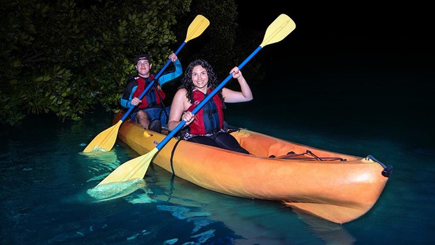 Bio Bay bioluminescent kayaking tour couples night, Laguna Grande Bioluminescent Kayaking Tour