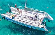 Sailing Catamaran Tour boat, Sailing Fajardo Cays Catamaran Tour