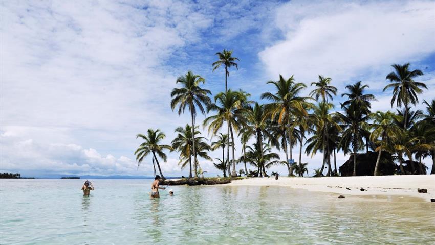 Panama Beach Island San Blas, El Original San Blas Island Hopping 1 Night 2 Day