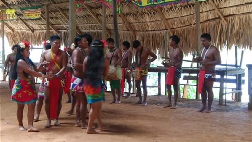 embera 1, Tour de un día por la comunidad de Emberá desde la ciudad de Panamá