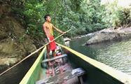 Piragua, Tour de un día en el pueblo de Emberá