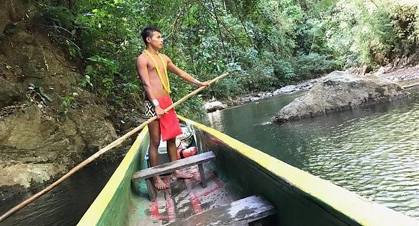 Piragua, Embera Full Day Tour from Panama City