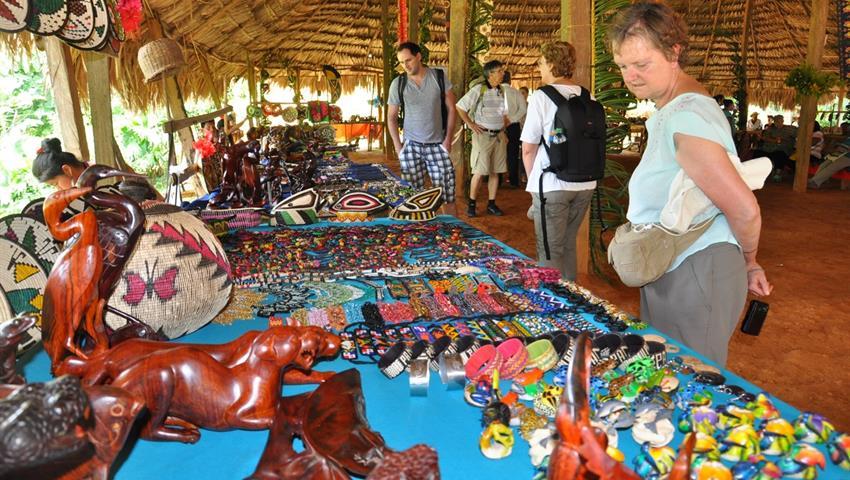 Artesanias Embera, Tour de un día en el pueblo de Emberá