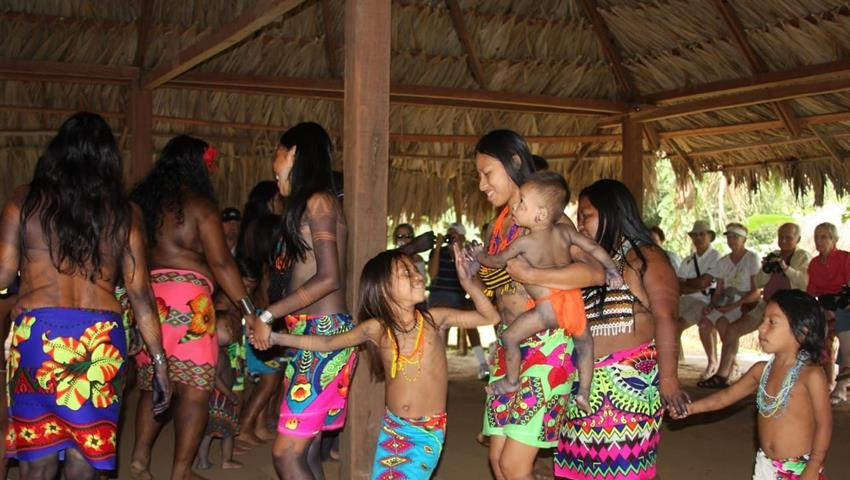 Embera Katuma 4, Embera Katuma Community Tour from Gamboa Public Pier