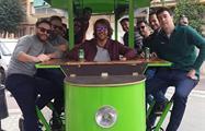 beer bike granada tour experience, Estandar Option