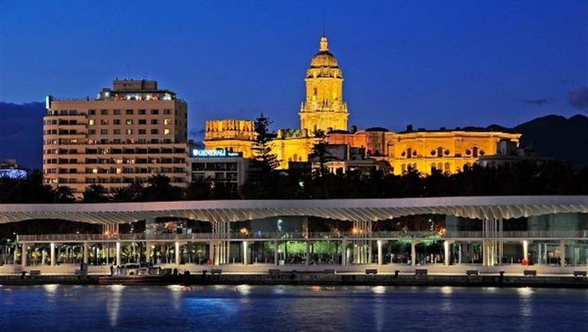Malaga at night - Tiqy, Evening Gourmet Tapas Tour