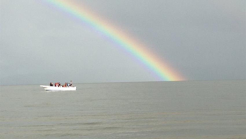 national park los haitises rainbow, Excursion to the National Park Los Haitises