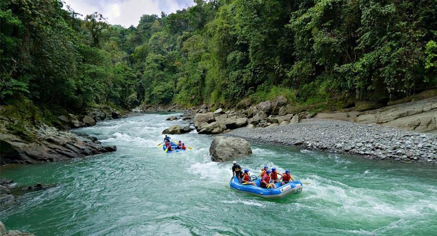 Reventazon river tour, El Carmen Section