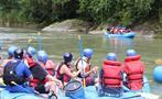 Reventazon river rafting tour, El Carmen Section