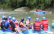 Reventazon river rafting tour, El Carmen Section