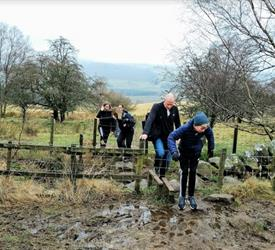 Family Walk , Walking Tours in Scotland