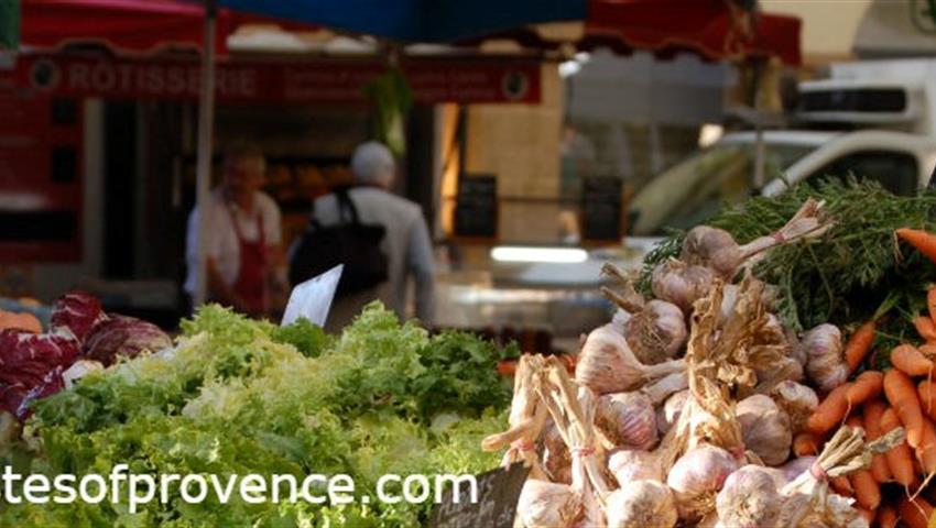 Provence, Farmers Market & Food Shop Tour