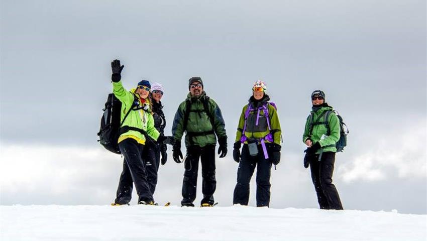 First Tracks, Primeros Pasos Exploradores de Nieve