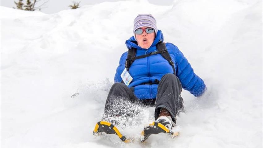 Winter Adventures in Alberta, Primeros Pasos Exploradores de Nieve