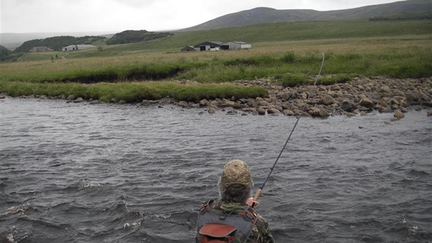 learning how to fly fishing - tiqy, Fish for Trout on the River Swale
