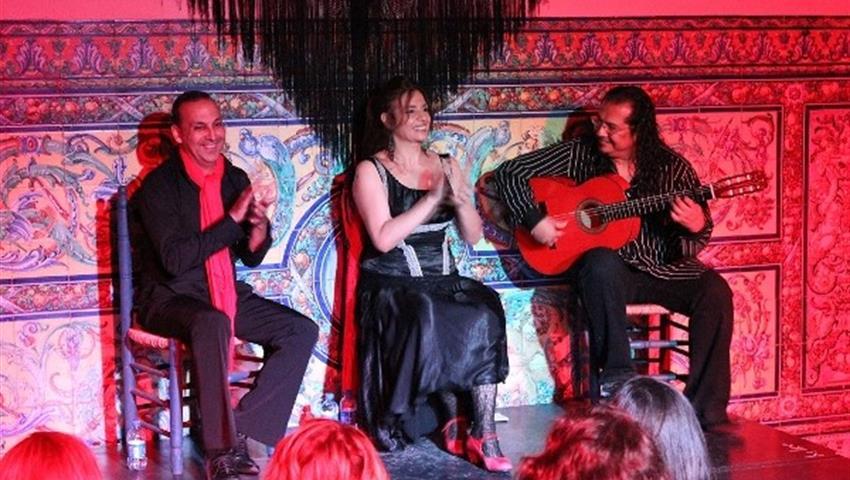 flamenco performance - Tiqy, Flamenco and Tapas Tour