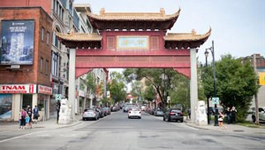 Chinatown Gate, Flavors of South Montreal