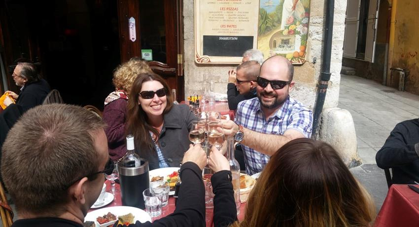 2, Food and Wine Tours in Nice's Old Town