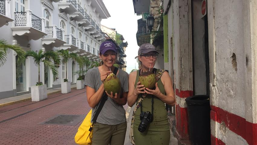 cocos frios food by foot tour casco, Food by Foot at Casco Viejo
