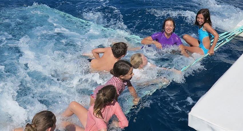 kids tiqy, Fraser Island Eco Sailing Adventure