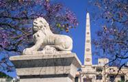 statue of a lion - tiqy, Free Walking Tour in Malaga
