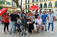 big group in the end of the tour - tiqy, Free Walking Tour in Malaga