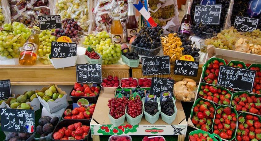market, French Food Market Tour