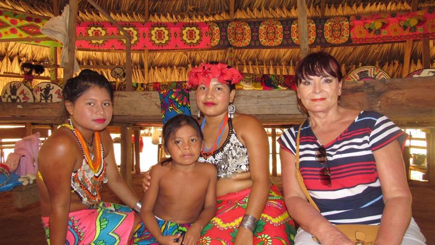 embera el mono 2, Full Day Tour from Panama City to the Embera Village