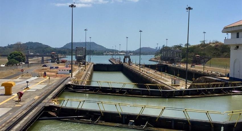 View, Panama Canal Full Transit Tour