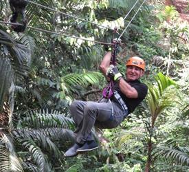 Tour de 10 líneas de Canopy en Gamboa