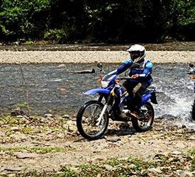 Moto River Crossing Tour