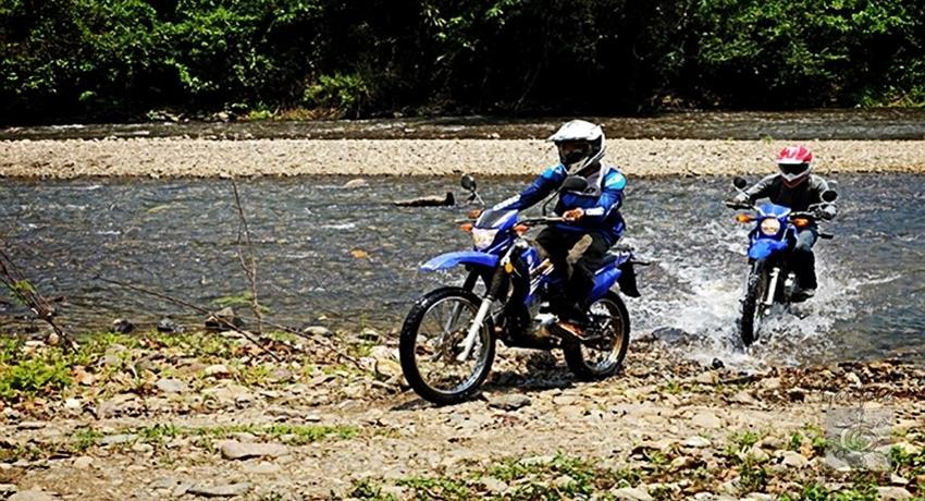 1, Moto River Crossing Tour