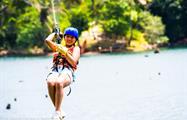 Canopy Panama Girl Zip Line, Gatun Lake Canopy Zip Line Tour from Panama City