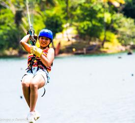 Gatun Lake Canopy Zip Line Tour from Panama City